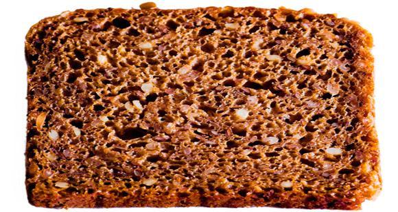 Ломтик ржаного хлеба