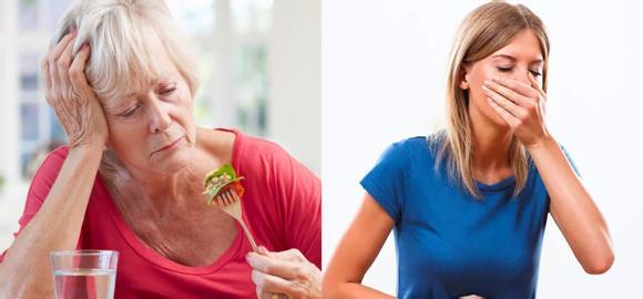 Симптомы ферментативной недостаточности - рвота и плохой аппетит
